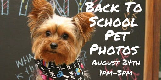 FREE Back To School Pet Photos