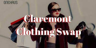 Claremont Ladies Clothing Swap [$5 for 1st 10 Ladies]