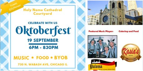 Oktoberfest at Holy Name Cathedral || Featuring - Paloma Oktoberfest Band tickets