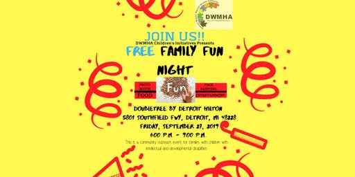 DWMHA FREE Family Fun Night 2019