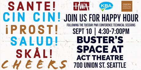 Happy Hour with HWA, KBA, and OCI tickets