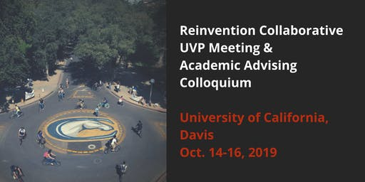 Fall 2019 UVP Meeting & Academic Advising Colloquium