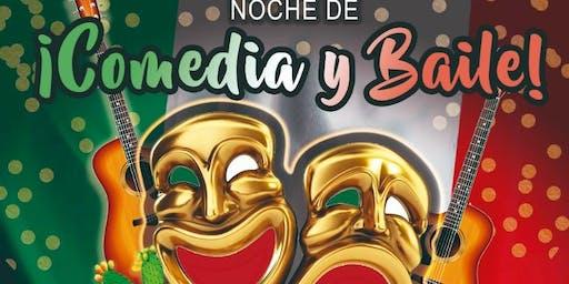 NOCHE DE COMEDIA & BAILE