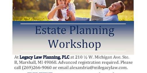 Estate Planning Workshop - September 2019