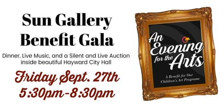 2019 Sun Gallery Evening for the Arts Gala tickets