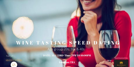 Wine Tasting Speed Dating  tickets