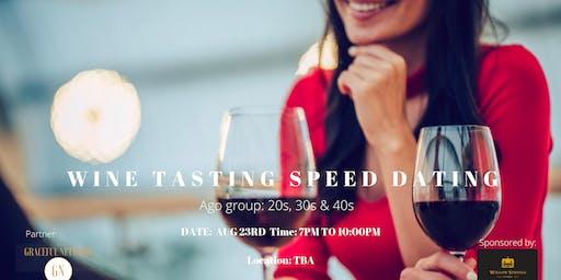 Wine Tasting Speed Dating