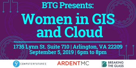 Women in GIS and Cloud tickets