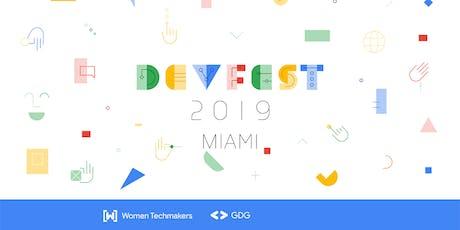 DevFest Miami 2019 tickets