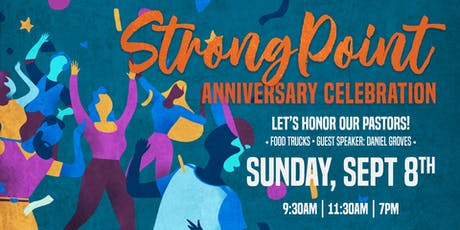 StrongPoint Church Anniversary Celebration tickets
