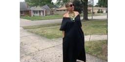 9 am V neck dress