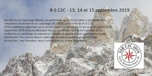R-S C2C - 13, 14 et 15 septembre 2019