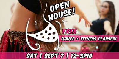 FREE CLASSES | WORLD DANCE & FITNESS | OPEN HOUSE