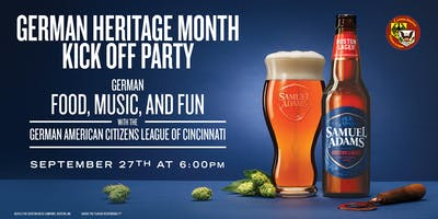 German Heritage Month Kick-off Party