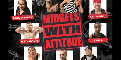 Midgets with Attitude at Halftime