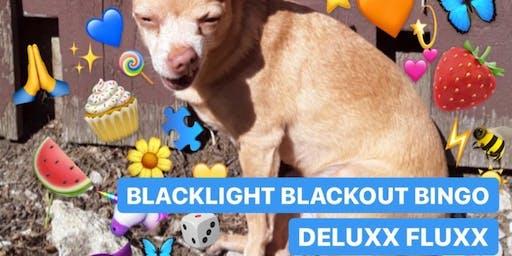 Blacklight Blackout Bingo