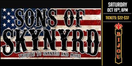 Lynyrd Skynyrd Tribute - Sons of Skynyrd tickets