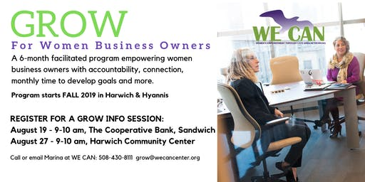 GROW Support Circle for Women Business Owners