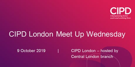 CIPD London Meet-up-Wednesday networking evening tickets