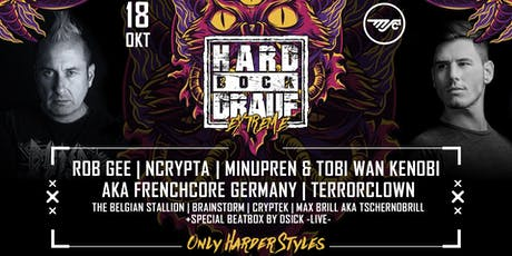 HARD BOCK DRAUF Extreme #2 Rob Gee, Ncrypta, TerrorClown & more Tickets