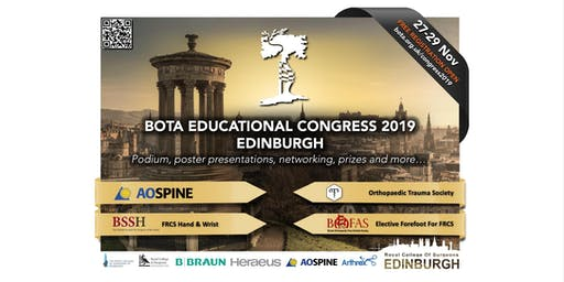 BOTA Educational Congress 2019 - Edinburgh