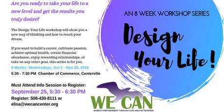 Design Your Life with Kathy Robbins tickets