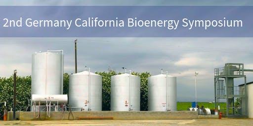 2nd Germany California Bioenergy Symposium