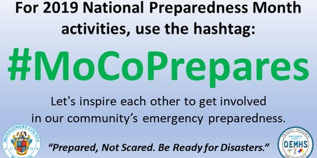"#MoCoPrepares: ""You Are the Help Until Help Arrives"" Training tickets"
