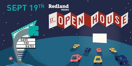 Redland 11th Anniversary Open House tickets