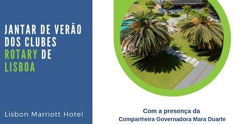 Jantar de Verão dos Clubes Rotary de Lisboa