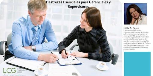 Destrezas Esenciales para Gerenciales y Supervisores
