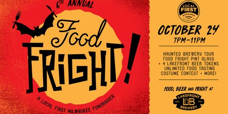 6th Annual Food Fright tickets