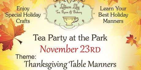 Tea Party in the Park tickets