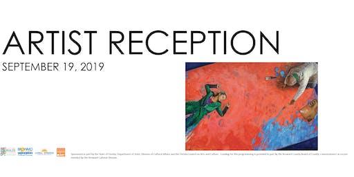 Artist Reception - Dario Ortiz