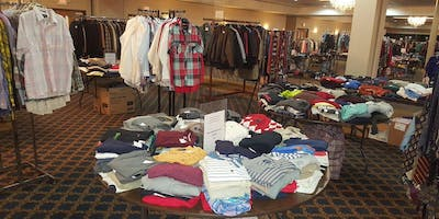 New Providence Baptist Church request new & gently used items for giveaway
