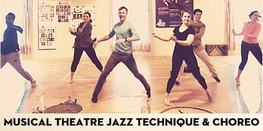 Musical Theatre Jazz Technique & Choreo