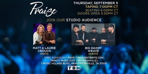 TN - Big Daddy Weave with Matt & Laurie Crouch