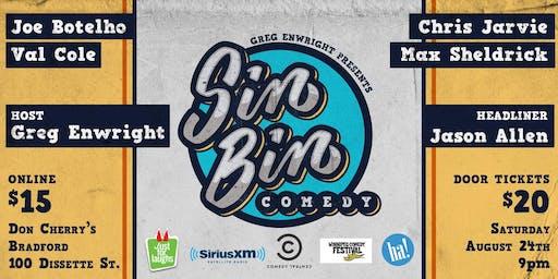 Sin Bin Comedy Show #44