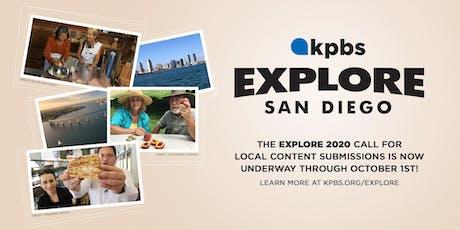 KPBS Explore Orientation tickets