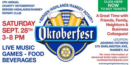 Charity Octoberfest tickets