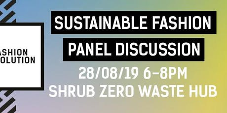 Sustainable Fashion Panel Discussion tickets