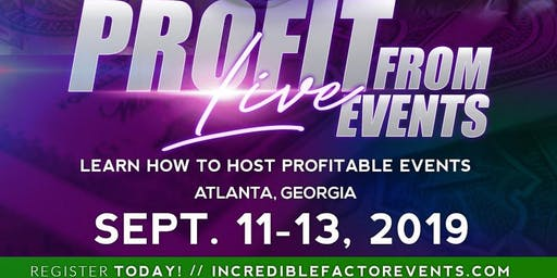 Profit From Live Events