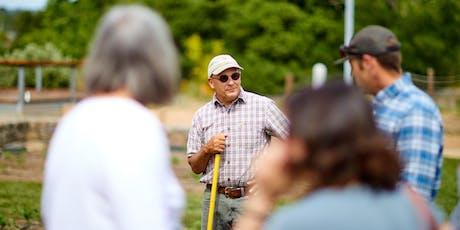 Copia Garden Tour with CIA Farmer Jon tickets