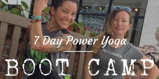 7 Day Power Yoga Boot Camp