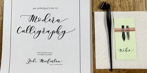 An Introduction to Modern Calligraphy Workshop