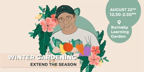 Winter Gardening: Extend the Season tickets