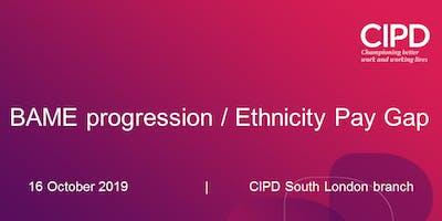BAME progression / Ethnicity Pay Gap