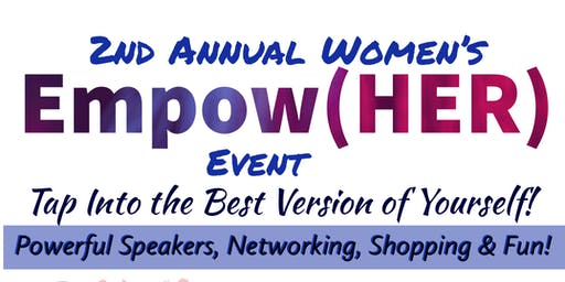 2nd Annual Women's Empower(HER) Event- VENDOR