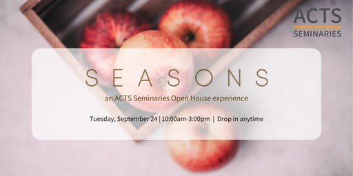 ACTS Seminaries Drop-In Open House