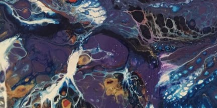 Intermediate Acrylic Pouring Techniques with Artist Beth Wheeler